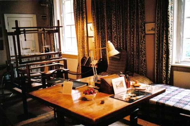Anna Freud's Couch, Table, and Loom
