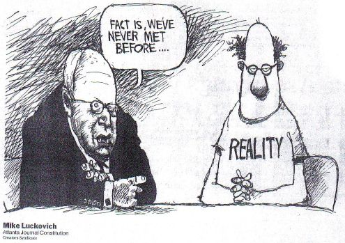 Cheney never met Reality